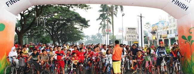 CitraRaya Kembali Adakan Acara Ecobike 2015