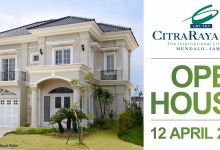 CitraRaya City Adakan Open House Rumah Contoh Royal Palm