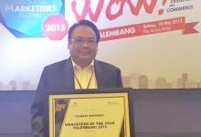 Gunadi Wirawan, Terima Penghargaan Markeeter of The Year Palembang 2015