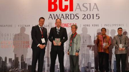 Grup Ciputra Masuk Top Ten Developers Versi BCI Asia Awards 2015