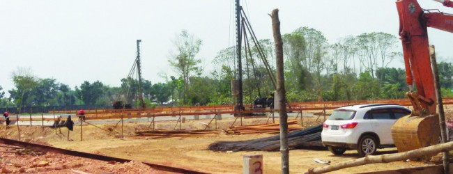 Progres Pembangunan Dipacu Agar Sesuai Dengan  Target