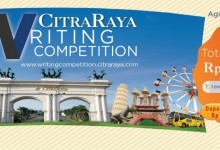 Asah Kreatifitasmu di Ajang CitraRaya Writing Competition