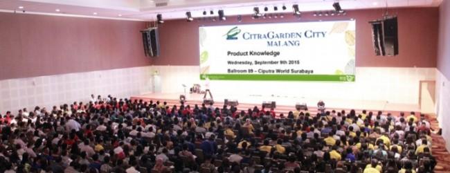 CitraGarden City Malang Diserbu Ratusan Orang Di Hari Pertama Pendaftaran