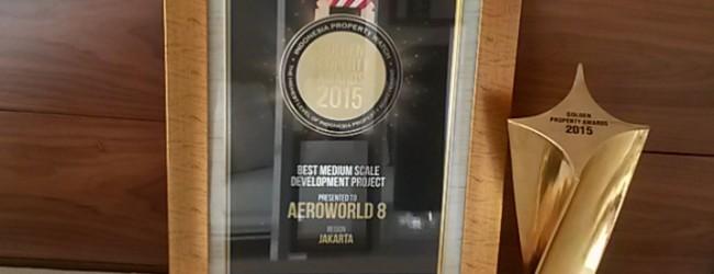 Penghargaan Golden Property Awards 2015 kepada Aeroworld 8