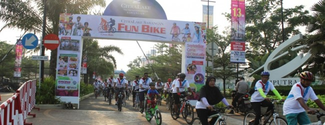 Fun Bike Seru Bersama CitraLake Sawangan