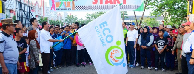 CitraGrand City Sukses Gelar Launching Ecoculture