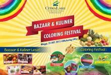 CitraLake Sawangan Gelar Bazaar & Kuliner, Coloring Festival