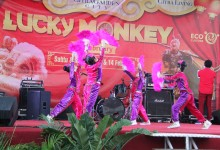 Imlek Bertema Lucky Monkey Bersama CitraGarden City