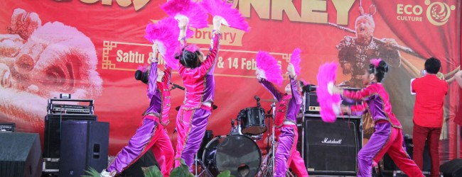Imlek Bertema Lucky Monkey Bersama CitraGarden City