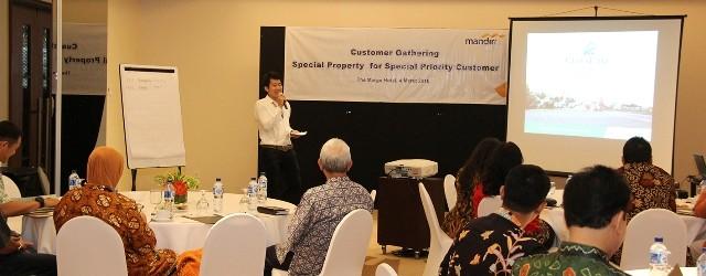 CitraLake Sawangan Adakan Open Table dalam Customer Gathering Nasabah Bank Mandiri Prioritas