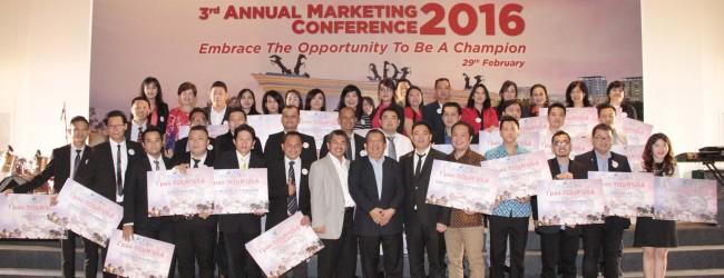Liputan 3rd Annual Marketing Converence 2016 PT Ciputra Residence