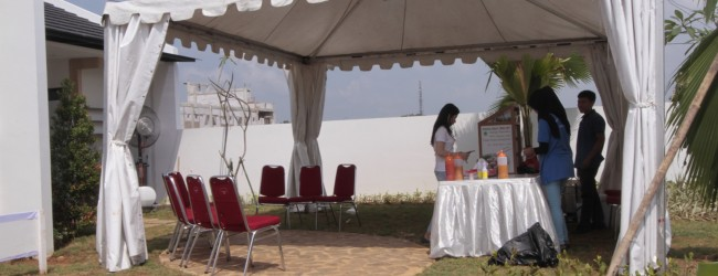 Open House Ala Pesta Kebun Di Villaggio