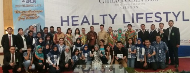 CitraGarden BMW Adakan Healthy Lifestyle With BCA