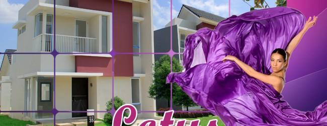 Lotus Rumah 2 Lantai Dibawah Rp 1 Miliyar Satu-Satunya di CitraGrand City