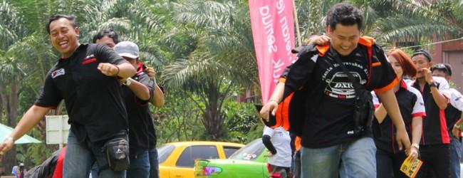 Keseruan Dirgahayu 71 Bersama Keluarga Besar Lintas Club R4 Sumatera Selatan di CitraGrand City