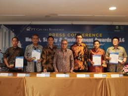 PT Ciputra Residence Kembali Menggelar Health, Safety & Environment Awards 2016