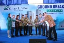 Ciputra Lakukan Ground Breaking Ceremony Apartemen Citra Living dengan Sukses