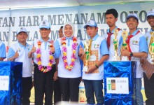 Wujudkan Komitmen EcoCulture, Pemprov, Pemkot dan CitraGrand City Gelar Hari Menanam Pohon Indonesia