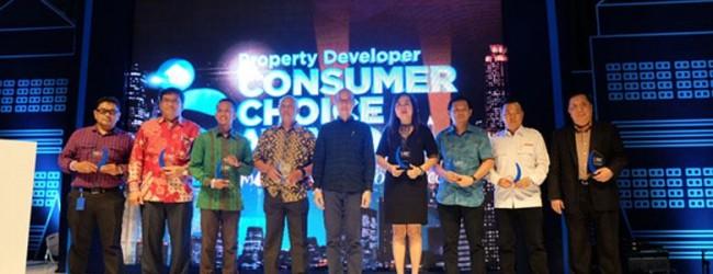 Ciputra Group Raih 5 Award Pada Ajang Consumer Choice Awards 2017