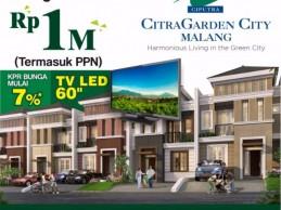 Jadikan Perumahan Eksklusif CitraGarden City Malang Resolusi Anda di 2017