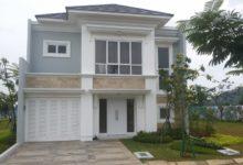 Type Mahogany, Rumah Di Cilegon Bergaya Modern Kontemporer