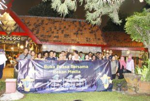 CitraRaya & Citra Maja Raya Gelar Bukber Dengan Insan Pers