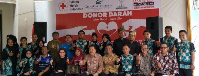 Kemeriahan Donor Darah di CitraGarden Aneka