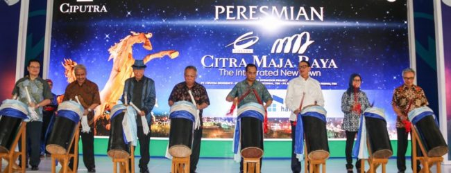 Peresmian Citra Maja Raya, Gerbang Kota Baru Publik Di Barat Jakarta