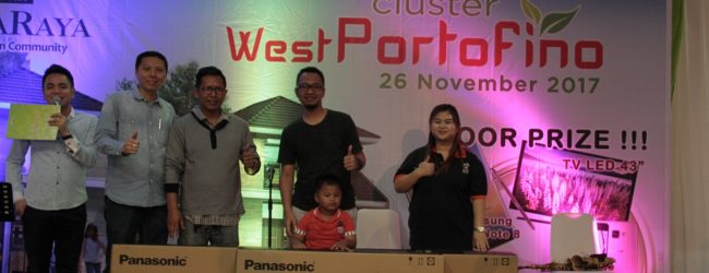 Banjir Hadiah Dan Reward Warnai Launching West Portofino
