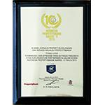 Apresiasi dari ajang Indonesia Property & Bank Award X