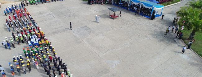 Upacara Peringatan K3 Jambi di CitraRaya City