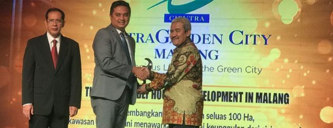 "CitraGarden City Malang Raih ""The Eco Friendly Housing Development in Malang"""