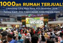 1.000-an Rumah di Citra Maja Raya Terjual Dalam 2 Hari
